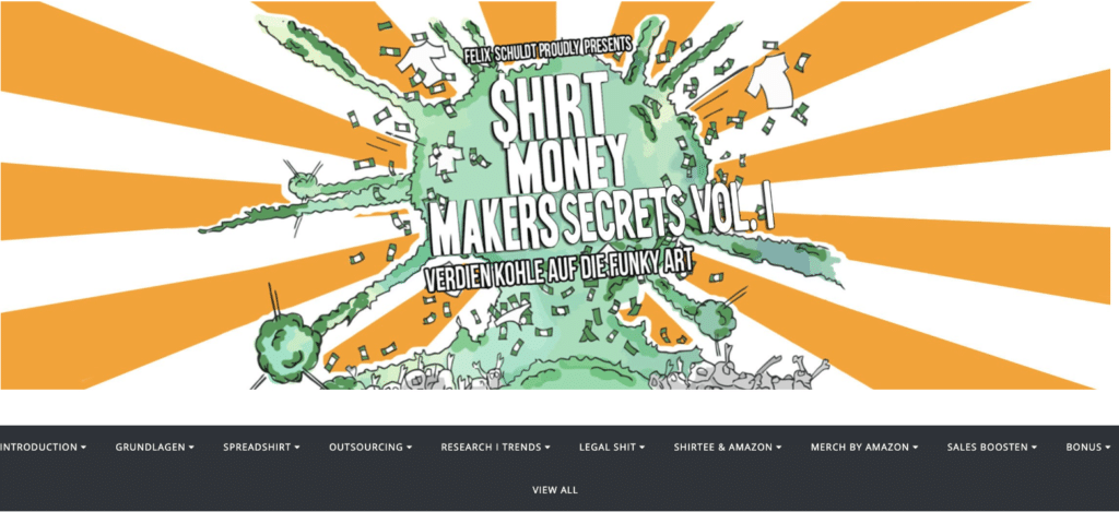 shirt money makers secrets dashboard