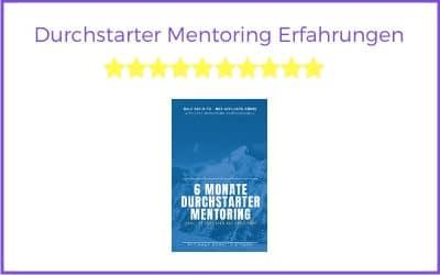 Durchstarter Mentoring 2020 Erfahrungen – Vom Affiliate König Ralf Schmitz